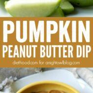 Pumpkin Peanut Butter Dip Recipe