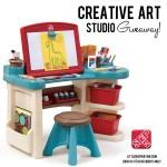 Step2 Creative Art Studio Giveaway