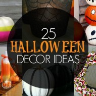 25+ Halloween Decor Ideas