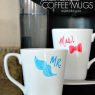 Personalized Coffee Mugs and a Keurig #TargetWedding