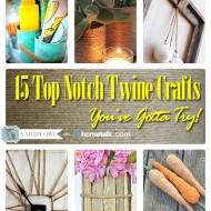 15 Top Notch Twine Crafts on Hometalk