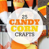 25 Candy Corn Crafts