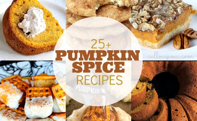 25 Pumpkin Spice Recipes Feature