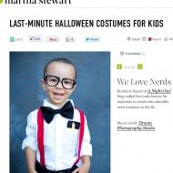 Last Minute Halloween Costumes on Martha Stewart