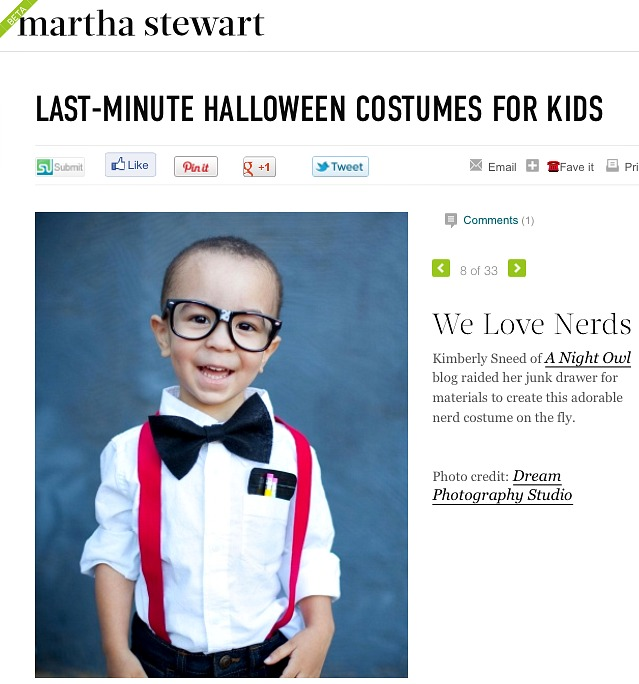 Last-Minute Costumes at MarthaStewart.com