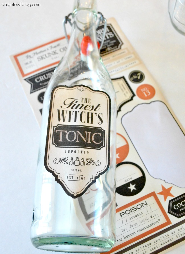 Apothecary Jar Labels from American Crafts at Target