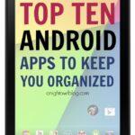 Organize Your Life: A Nexus 7 Review