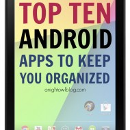 Organize Your Life: A Nexus 7 Review