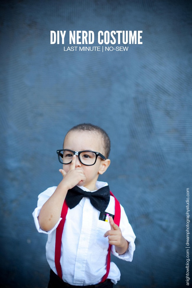DIY Nerd Costume | anightowlblog.com & Last Minute Halloween Costumes on Martha Stewart - A Night Owl Blog