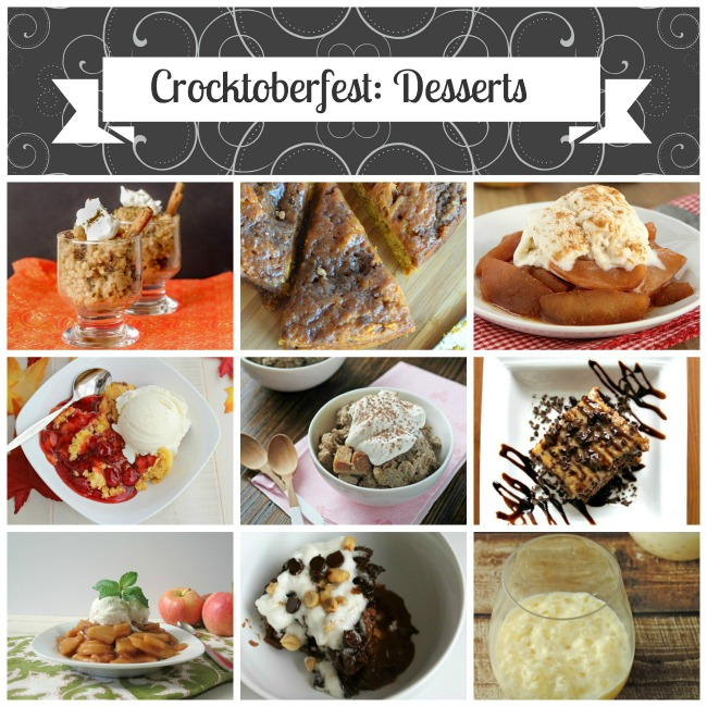 Easy Crock Pot Desserts