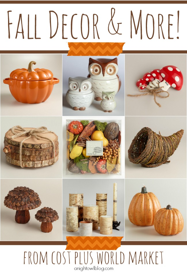 Fall Decor and More at World Market
