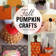 Create & Inspire Party | Fall Pumpkin Crafts