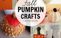 Fall Pumpkin Crafts >> #CreateandInspire Party Features