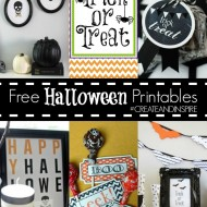 Create & Inspire Party | Halloween Printables