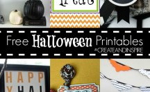 Free Halloween Printables >> #CreateandInspire Party Features