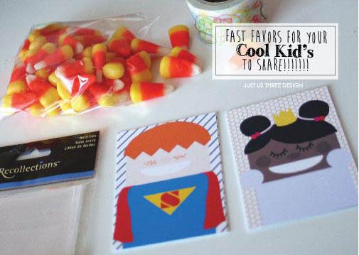 Cool Kids Easy Printable Halloween Treats