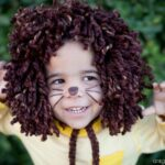 Easy No-Sew Kids Lion Halloween Costume