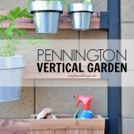 Pennington Vertical Gardening System Review #GrowWithUs