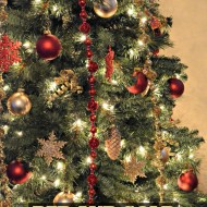 Red and Gold Christmas Tree – Michaels Dream Tree Challenge
