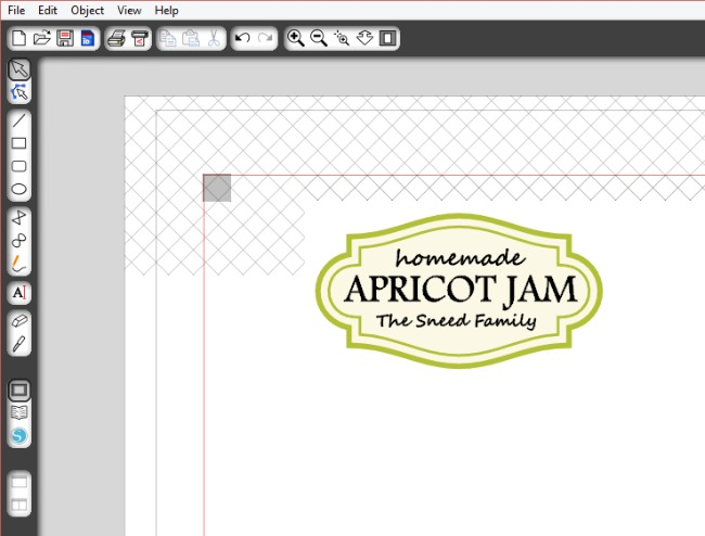 Custom Mason Jar Labels made with Silhouette