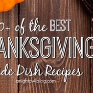 50+ Thanksgiving Side Dish Recipes
