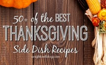 50 Thanksgiving Side Dish Recipes Feature
