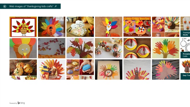 Bing Smart Search - Thanksgiving Kids Crafts