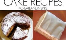 Delicious Cake Recipes >> #CreateandInspire Party Features
