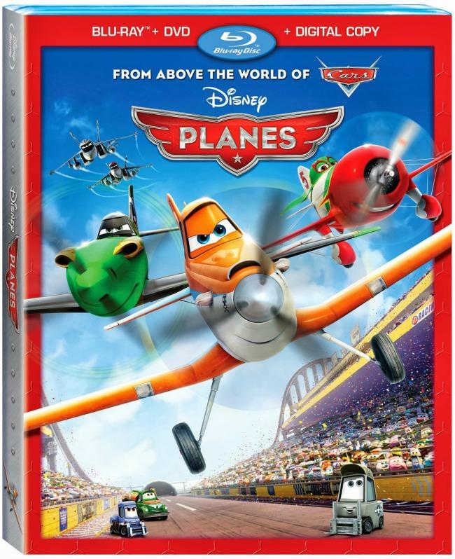 Disney Planes Blu Ray