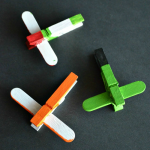 Disney Planes DIY Mini Clothespin Airplanes
