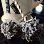 Chocolate Coconut Marshmallow Pops
