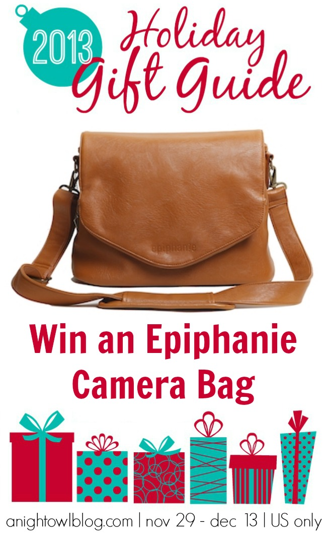 Win an Epiphanie Camera Bag from the A Night Owl Gift Guide Giveaway!