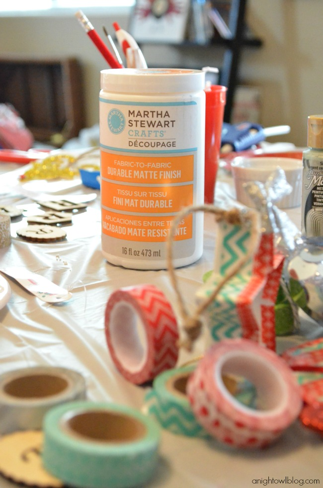 Tons of crafty fun to be had at an at-home Pinterest Party with Michaels!
