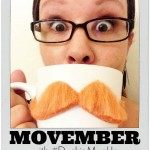 Movember Mustache Month with #DunkinMugUp