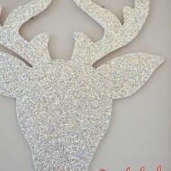 Rudolph the Glitter Reindeer