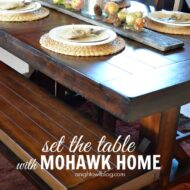 Set the Table with Mohawk Home