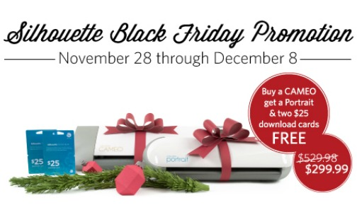 Silhouette Black Friday Promotion Feature