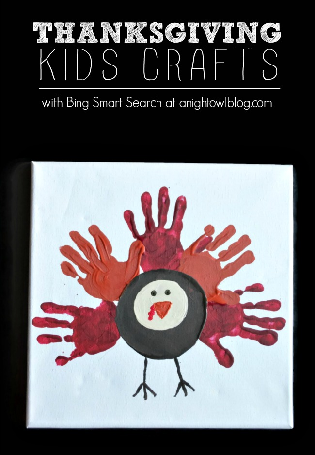 You can find all the Thanksgiving Kids Crafts you want and more with Bing Smart Search! #ThisIsBing