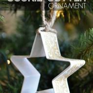 Washi Tape Cookie Cutter Ornaments
