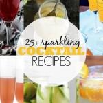 25+ Sparkling Cocktail Recipes