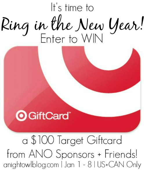 Enter to WIN a $100 Target Gift Card from anightowlblog.com and friends!
