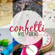 Confetti New Years Eve Party Ideas