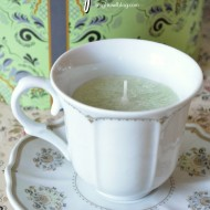 DIY Teacup Candles