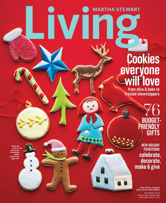 amazing projects in the december issue of martha stewart living - Martha Stewart Christmas