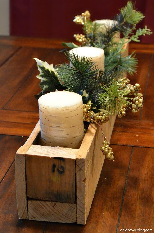 Wooden Garland Christmas