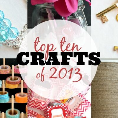 Top Ten Crafts of 2013 from A Night Owl Blog! Jewelry, washi and more!