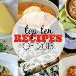 Top Ten Recipes of 2013