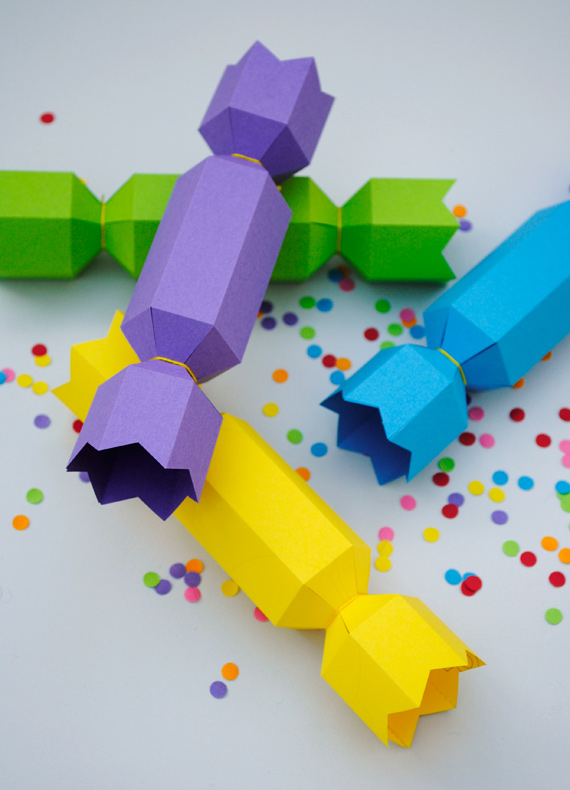 DIY Confetti Crackers by Minieco