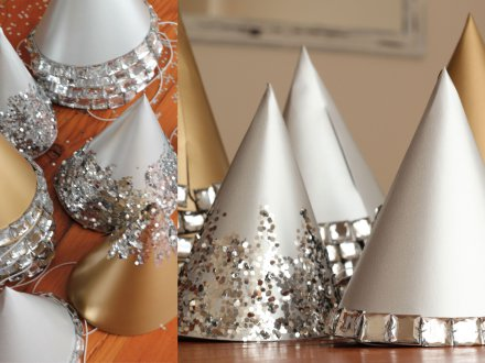 Confetti Party Hats by Glee Projects