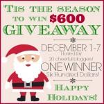 'Tis the Season $600 Visa Giveaway